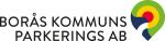 Parkeringsvakt till Borås Kommuns Parkerings AB Logotyp